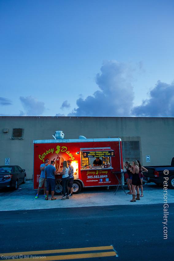 Candid shots around FAT Village Arts District in Fort Lauderdale, FL