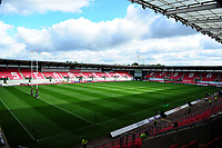 A general view of Parc Y Scarlets prior to the Guinness Pro14 Round 6 match between Scarlets and Ospreys at the Parc Y Scarlets in Llanelli, Wales, UK. October 06, 2018