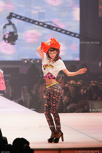 """Mar. 5, 2011 - Tokyo, Japan - Model Elli-Rose walks down the catwalk wearing L.D.S. The 12th Tokyo Girls Collection is noted to be one of the largest fashion festivals in the world with this year's theme as """"Tokyo Romantic Fever."""""""