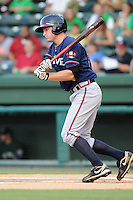 Infielder Phil Gosselin (30) of the Rome Braves in a game against the Greenville Drive Aug. 10, 2010, at Fluor Field at the West End in Greenville, S.C. Gosselin was the Atlanta Braves' 5th round pick in the 2010 Draft. Photo by: Tom Priddy/Four Seam Images.