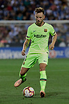 FC Barcelona's Ivan Rakitic during La Liga match between CD Leganes and FC Barcelona at Butarque Stadium in Madrid, Spain. September 26, 2018. (ALTERPHOTOS/A. Perez Meca)