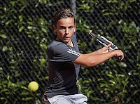 Hilversum, Netherlands, August 10, 2016, National Junior Championships, NJK, Quinn Groenendijk (NED)<br /> Photo: Tennisimages/Henk Koster