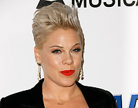 LOS ANGELES, CA - FEBRUARY 08: Pink at the MusiCares Person of the Year Tribute held at Los Angeles Convention Center, West Hall on February 8, 2019 in Los Angeles, California. <br /> CAP/MPI/IS/CSH<br /> &copy;CSHIS/MPI/Capital Pictures