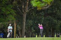 Ian Poulter (GBR) hits his approach shot on 6 during round 2 of the World Golf Championships, Mexico, Club De Golf Chapultepec, Mexico City, Mexico. 2/22/2019.<br /> Picture: Golffile | Ken Murray<br /> <br /> <br /> All photo usage must carry mandatory copyright credit (© Golffile | Ken Murray)