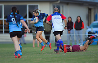 Action from the Horowhenua Kapiti women's rugby match between Levin College Old Boys and Shannon at Playford Park in Levin, New Zealand on Friday, 9 October 2019. Photo: Dave Lintott / lintottphoto.co.nz