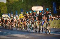 Full Team SKY leadout for Chris Froome (GBR)<br /> <br /> Tour de France 2013<br /> (final) stage 21: Versailles - Paris Champs-Elysées<br /> 133,5km