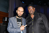 "LOS ANGELES, CA- FEB. 08: Ben Ortiz, Alonzo ""Lonzo"" Williams at the From Compton to Cornell: Preserving The History of Hip Hop In the Hub City at the Grammy Museum in Los Angeles, California on February 8, 2018 Credit: Koi Sojer/ Snap'N U Photos/Media Punch"