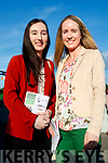Rachel and Shirley Eager, Farranfore, pictured at the Kingdom Greyhound Stadium, Tralee, GAA Night of Champions on Friday night last.