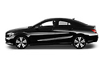 Car driver side profile view of a 2018 Mercedes Benz CLA Coupe Business Solution 4 Door Sedan