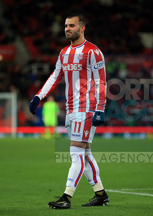 Jese of Stoke City during the premier league match at the bet365 Stadium, Stoke on Trent. Picture date 29th November 2017. Picture credit should read: Clint Hughes/Sportimage