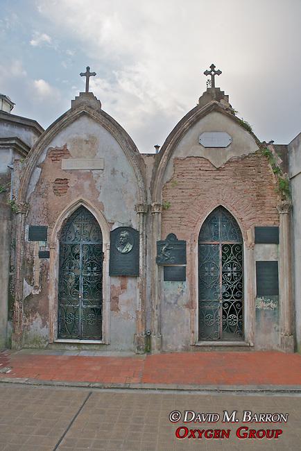 Rodriguez Larreta & Miguel Cane Tombs, La Recoleta Cemetery
