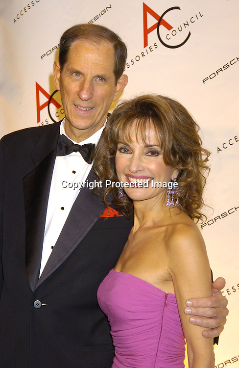 Michael Gould of Bloomingdales and Susan Lucci ..at The Accessories Council 8th Annual ACE Awards on ..November 1, 2004 at Cipriani 42nd Street. ..Photo by Robin Platzer, Twin Images