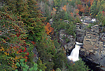 Linville Falls, Blue Ridge Parkway, North Carolina, USA