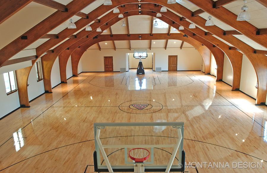 Home Basketball Gym - ahh!