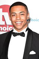 Zack Morris<br /> arriving for the TV Choice Awards 2017 at The Dorchester Hotel, London. <br /> <br /> <br /> ©Ash Knotek  D3303  04/09/2017