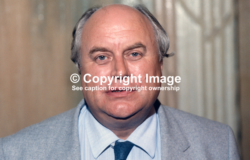 Norman Willis, general secretary, Trades Union Congress, UK, taken at the organisation's annual conference, 1984. 19840102NW1.<br /> <br /> Copyright Image from Victor Patterson, 54 Dorchester Park, Belfast, UK, BT9 6RJ<br /> <br /> t1: +44 28 9066 1296<br /> t2: +44 28 9002 2446<br /> m: +44 7802 353836<br /> <br /> e1: victorpatterson@me.com<br /> e2: victorpatterson@gmail.com<br /> <br /> www.victorpatterson.com<br /> <br /> IMPORTANT: Please see my Terms and Conditions of Use at www.victorpatterson.com