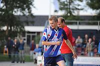 FIERLJEPPEN: IT HEIDENSKIP: 24-06-2015, Sytse Bokma pr. 19.99m, ©foto Martin de Jong