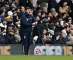 Tottenham's Mauricio Pochettino in action<br /> <br /> Barclays Premier League- Tottenham Hotspurs vs Arsenal  - White Hart Lane - England - 7th February 2015 - Picture David Klein/Sportimage