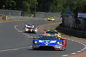 June 14 and 15th 2017,  Le Mans, France; Le man 24 hour race qualification sessions at the Circuit de la Sarthe, Le Mans, France;  #68 FORD CHIP GANASSI RACING TEAM USA (USA) FORD GT LMGTE PRO DIRK MUELLER (DEU) JOEY HAND (USA) TONY KANAAN (BRA)