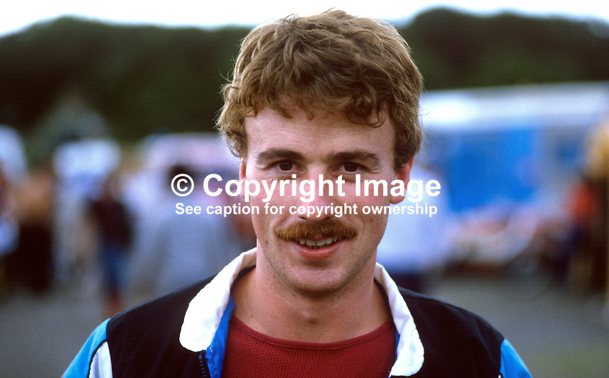 Alan Irwin, Newtownabbey, N Ireland, UK, racing motorcylist, 19840100AI1..Copyright Image from Victor Patterson, 54 Dorchester Park, Belfast, UK, BT9 6RJ..Tel: +44 28 9066 1296.Mob: +44 7802 353836.Voicemail +44 20 8816 7153.Skype: victorpattersonbelfast.Email: victorpatterson@me.com.Email: victorpatterson@ireland.com (back-up)..IMPORTANT: If you wish to use this image or any other of my images please go to www.victorpatterson.com and click on the Terms & Conditions. Then contact me by email or phone with the reference number(s) of the image(s) concerned.
