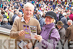 Pictured at Listowel Races on Sunday, from left: Tom McCarthy (Duagh) and Bernie Pope (Clontarf)..
