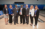16 APR 2016:  NCAA Bowling Committee ahead of the Division I Women's Bowling Championship held at the Brunswick Zone Carolier in North Brunswick, NJ.  Stephen F. Austin State won the national title.  Ben Solomon/NCAA Photos