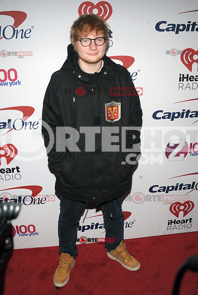 NEW YORK, NY - DECEMBER 8: Ed Sheeran at Z100's Jingle Ball 2017 at Madison Square Garden in New York City, Credit: John Palmer/MediaPunch /nortephoto.com NORTEPHOTOMEXICO