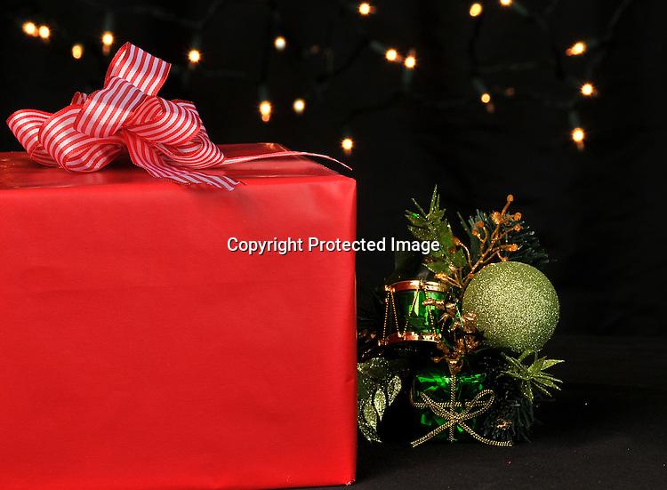 Stock photo of Christmas gift