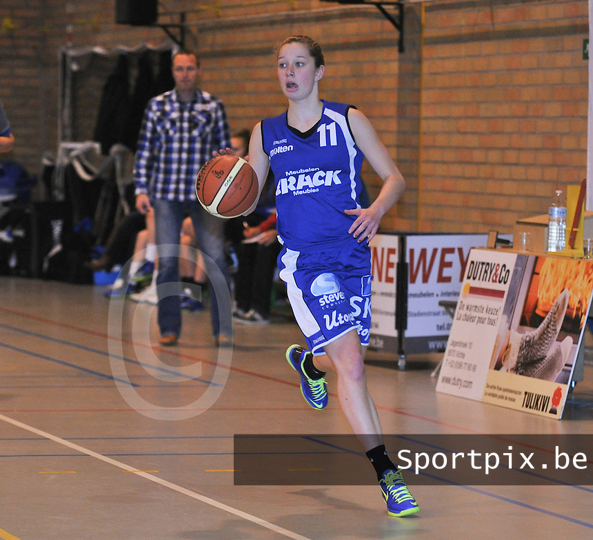 Blue Cats Ieper : Loes Breughe<br /> foto VDB / Bart Vandenbroucke