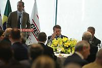 SÃO PAULO, SP, 03.02.2020: BOLSONARO-ALMOÇO-FIESP-SP - O Presidente da República, Jair Bolsonaro almoça com o Presidente da Federação das Indústrias do Estado de São Paulo (FIESP) Paulo Skaf, na sede da entidade na avenida Paulista, região central de São Paulo, nesta segunda-feira, 03. (Foto: Fábio Vieira/FotoRua)