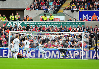Robin Van Persie scores.<br />