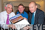 Pictured at the launch of the Killarney Lions club calendar in association with the Killarney Camera Club in The Killarney Park on Wednesday night were Paul Garnett and Teddy Sugrue, Killarney Camera Club with Tim O'Leary, Killarney Lions Club.