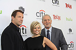 """Prospect Park's Jeff Kwarinetz - Leslie Miller - Rich Frank  on the Red Carpet at New York Premiere Event for beloved series """"All My Children"""" and One Life To Live on April 23, 2013 at NYU Skirball, New York City, New York  as The Online Network (TOLN) - AMC - OLTL  begin airing on April 29, 2013 on Hulu, Hulu Plus. (Photo by Sue Coflin/Max Photos)"""