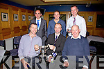 For the first time in the Clubs History the Cahersiveen Senior Men took the Overall prize at the South Kerry Rowing Social pictured here front l-r; Mike O'Connor, Joe O'Donoghue(Cox), Donal O'sullivan(Club Chairman), back l-r; Ger O'Shea, Aidan O'Sullivan & John Paul O'Connor.