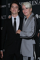 NEW YORK, NY - SEPTEMBER 11:  Fionn Whitehead, Emma Thompson  at the Premiere of The Children Act   at the Walter Reade Theater in New York City on September 11, 2018. <br /> CAP/MPI/RW<br /> &copy;RW/MPI/Capital Pictures