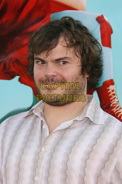 "JACK BLACK.Arrivals - World Premiere of ""Nacho Libre"" .held at Grauman's Chinese Theatre, .Hollywood, Los Angeles, California, .USA,12 June 2006..portrait headshot beard.Ref: ADM/ZL.www.capitalpictures.com.sales@capitalpictures.com.©Zach Lipp/AdMedia/Capital Pictures."