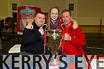 Pa Donnelly, Philippa Donnelly, Billy Donnelly. enjoying the Kerry Liverpool Supporters Club, an Evening with LFC Legend John Barnes at the Brandon Hotel on Friday