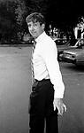 Tom Hayden<br /> in Los Angeles California<br /> September 1985
