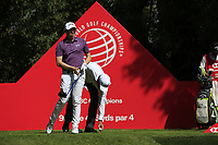 Matthew Fitzpatrick (ENG) on the 9th tee during the 2nd round of the WGC HSBC Champions, Sheshan Golf Club, Shanghai, China. 01/11/2019.<br /> Picture Fran Caffrey / Golffile.ie<br /> <br /> All photo usage must carry mandatory copyright credit (© Golffile   Fran Caffrey)