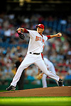 3 July 2009: Washington Nationals' starting pitcher Ross Detwiler on the mound against the Atlanta Braves at Nationals Park in Washington, DC. The Braves defeated the Nationals 9-8 to take the first game of the 3-game weekend series. Mandatory Credit: Ed Wolfstein Photo