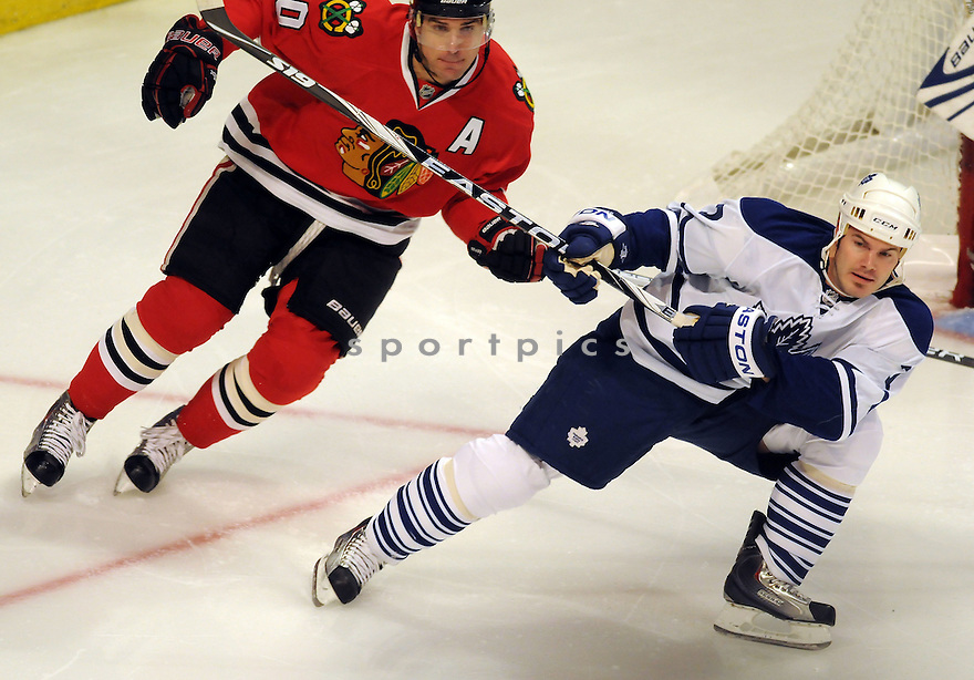 BLACKHAWKS VS MAPLE LEAFS.NOV 9, 2009