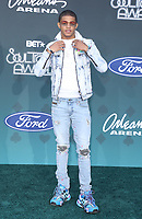 17 November 2019 - Las Vegas, NV - YK Osiris. 2019 Soul Train Awards Red Carpet Arrivals at Orleans Arena. Photo Credit: MJT/AdMedia