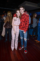 NEW YORK CITY - MARCH 15: Holly Taylor and Keidrich Sellati attend FX Networks 2018 Annual All-Star Bowling Party at Lucky Strike Manhattan on March 15, 2018 in New York City. (Photo by Anthony Behar/FX/PictureGroup)