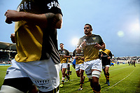 Action from the Mitre 10 Cup Premiership and Ranfurly Shield rugby match between Canterbury and Taranaki at AMI Stadium in Christchurch, New Zealand on Friday, 06 October 2017. Photo: Martin Hunter / lintottphoto.co.nz