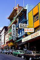 King Tin restaurant in Chinatown San Francisco, California, USA