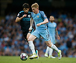 Kevin De Bruyne of Manchester City in action during the English Premier League match at the Etihad Stadium, Manchester. Picture date: May 16th 2017. Pic credit should read: Simon Bellis/Sportimage
