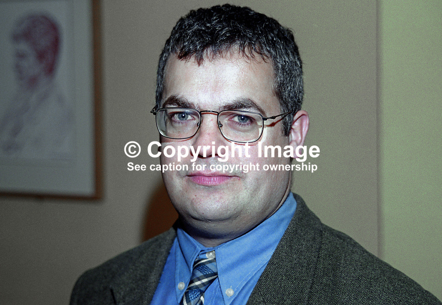 Tim Attwood, member, SDLP, Upper Falls, Belfast, 199911034.<br />