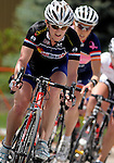 May 29, 2010: Colorado Bike-Law's Terrie Clouse leads the chase group during the early stages of the Superior Morgul Classic's Summit Criterium Women's Pro 1,2 race, Superior, Colorado.