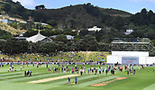 3rd December 2017, Wellington, New Zealand;  General view at the lunch break.<br /> Day 3. New Zealand Black Caps v West Indies. 1st test match of the ANZ International Cricket Season 2017/18 season. Basin Reserve, Wellington,