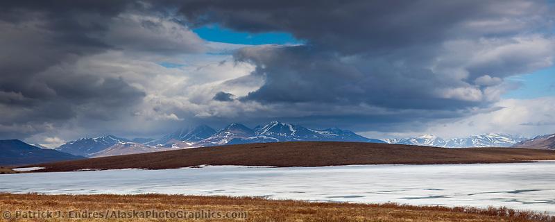 Etivluk lake, National Petroleum Reserve, Alaska.